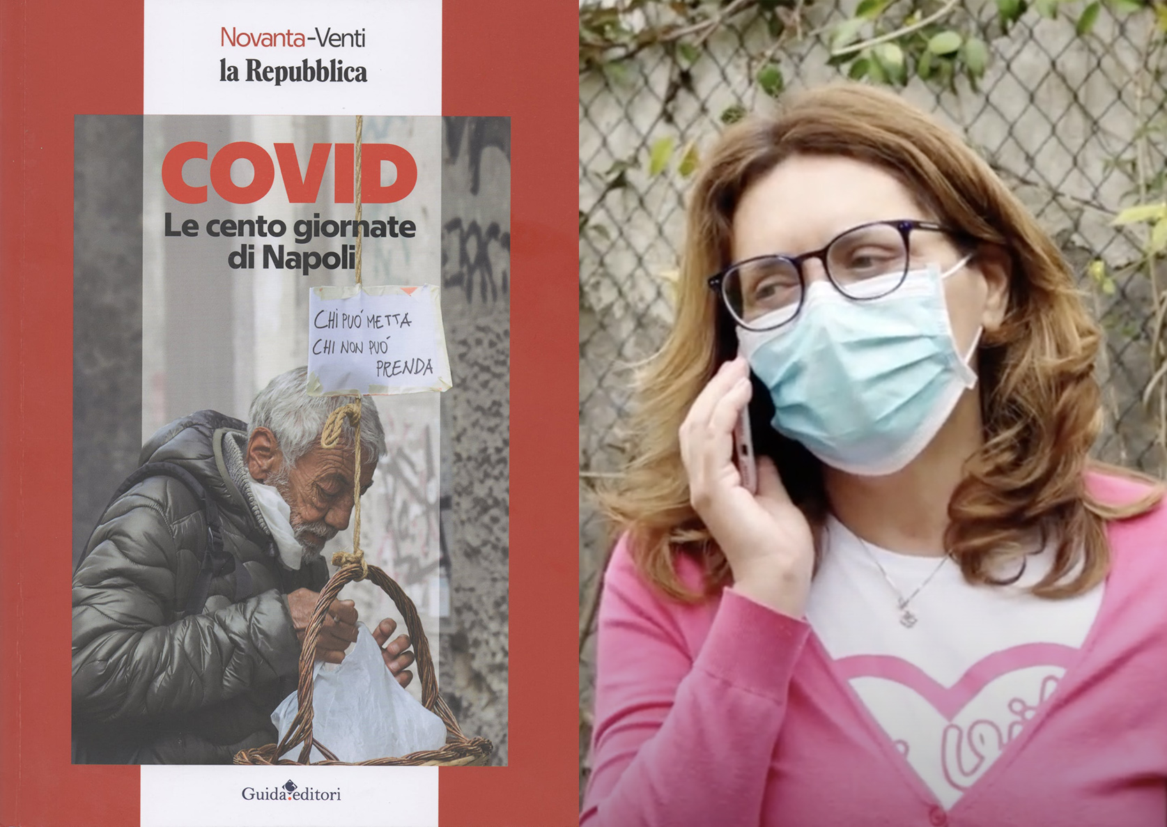 Covid, la testimonianza di Cordelia Vitiello nel libro di Repubblica