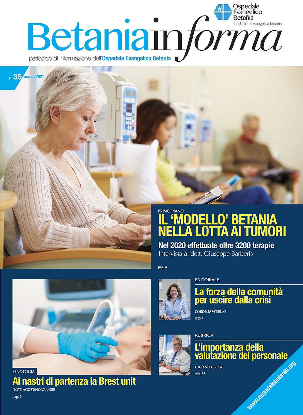 Il nuovo numero del magazine Betania Informa