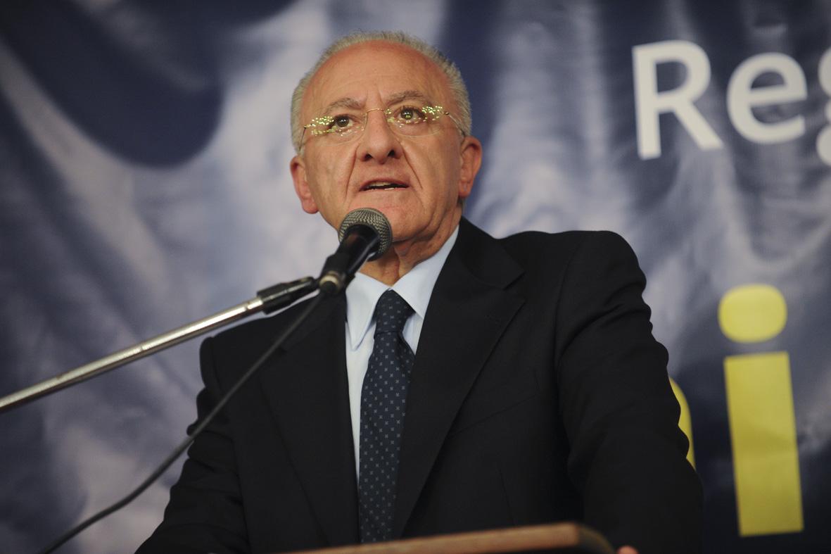 Sanità in Campania: incontro dei vertici della Fondazione con il Presidente Vincenzo De Luca