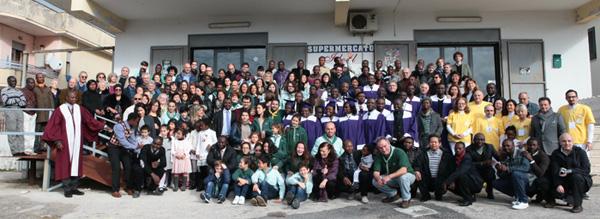 Fondazione Betania: una giornata comunitaria a Castelvolturno