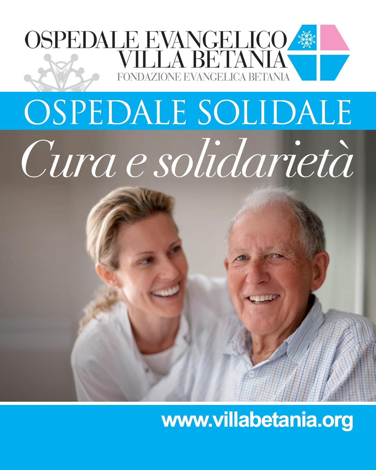 Nasce l'Ospedale Solidale: nuovi servizi e assistenza gratuita ai più poveri