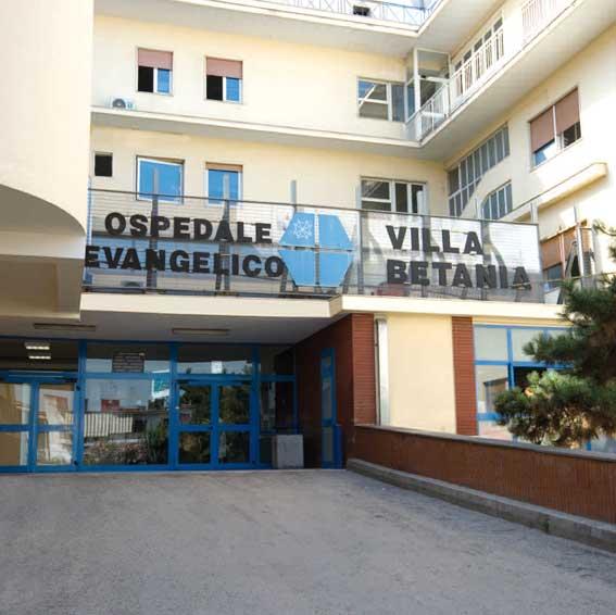 OSPEDALE BETANIA: DALLA REGIONE ARRIVA L'ACCREDITAMENTO ISTITUZIONALE DEFINITIVO