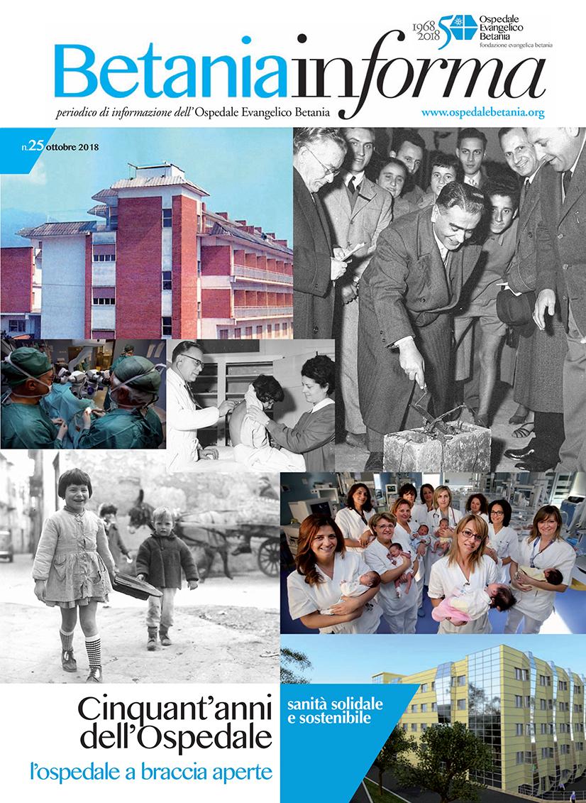Il nuovo numero di Betania Informa è dedicato al 50° dell'Ospedale