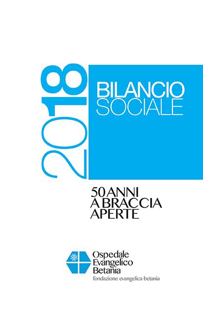PUBBLICATO IL NUOVO BILANCIO SOCIALE DELL'OSPEDALE