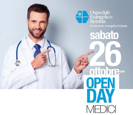 SUCCESSO PER L'OPEN DAY MEDICI